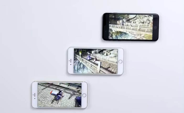 iPhone со старыми аккумуляторами