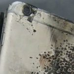 возгорание батареи iPhone