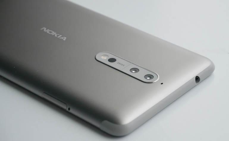 Nokia 8 - Nokia 8 Sirocco