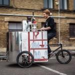 Мини-Кофейня на колесах, необычно и экологично (Видео)