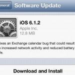 Apple обновила iOS до версии 6.1.2