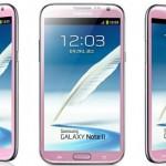 Ко Дню Святого Валентина компания Samsung выпустила розовый Galaxy Note II
