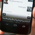 Новый подход к сенсорной клавиатуре для смартфона