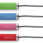 Wacom выпустил цветные Bamboo стилусы mini