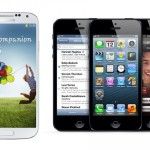 Samsung galaxy siv vs iphone 5