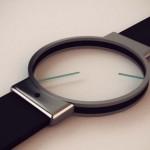 Аналоговые часы в минималистичном дизайне