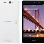 Sharp Aquos Pad SH-08E новый планшет с 7″ Full HD IGZO-экраном