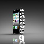 Чехол для iPhone в виде кастета