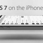 Первые фотографии интерфейса iOS 7