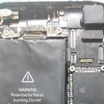 Фотографии прототипа iPhone 5S