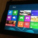 Планшет от Nokia на живых фото