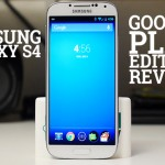 Обзор Samsung Galaxy S4 Google Play (видео)