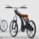 Велосипед с держателем для iPhone