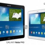 Спецификации Galaxy Note Pro