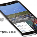 Samsung представила концепт изогнутого планшета
