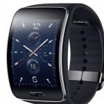 Samsung анонсировал SmartWatch Gear S с гибким дисплеем