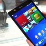 Новый планшет — Sony Xperia Z3 Tablet Compact