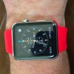 Ремешок красного цвета для Apple Watch