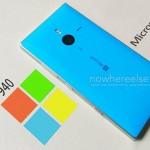 новый флагман Microsoft Lumia 940 XL