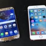 Гибкие iPhone 6s Plus и Samsung Galaxy S7 edge