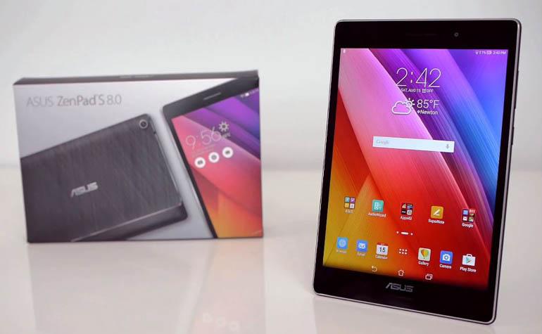 ASUS ZenPad S 8.0 – небольшой, но мощный планшет