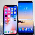 Кто быстрее, iPhone X или Galaxy Note 8?