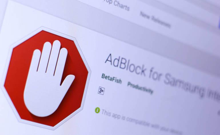 Блокирование навязчивой рекламы на смартфоне
